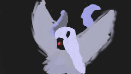 Absol Drawing... by FrozenFire1125