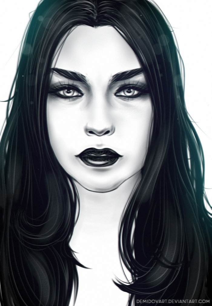 Amy Lee? by DemidovArt