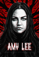 Amy Lee by DemidovArt