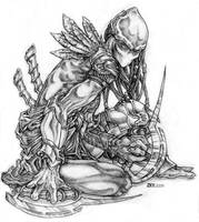 Protoss Blademaster by Ralome