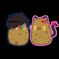 ZaneChan Potato (+speedpaint) by GoldenExus
