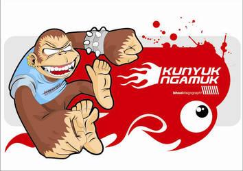 monkeyrage by gumun
