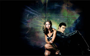 Buffy and Angel Forever by allnightnoise