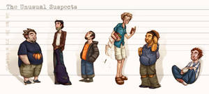 The Unusual Suspects by princendymion