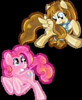 Pinkie Pie and Tech by shadow-rhapsody