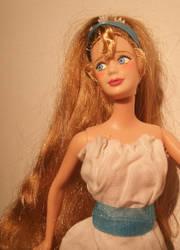 thumbelina ooak doll by lulemee