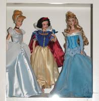Classic Disney Princess Display by lulemee