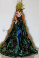 OOAK troll wedding Anna by lulemee