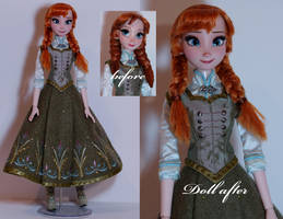Limited Edition Anna OOAK doll by lulemee
