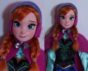 OOAK Anna doll by lulemee
