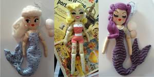 Amiechou Mermaids by lulemee
