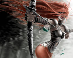 WALLPAPER archer by CintiaGonzalvez