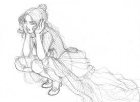 Victorian Girl - WIP by CintiaGonzalvez