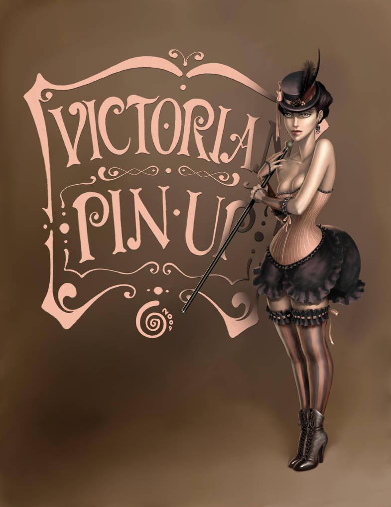 Victorian Pin Up by CintiaGonzalvez