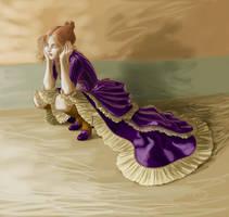 Victorian Girl - WIP II by CintiaGonzalvez