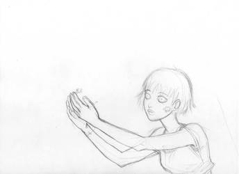 Unpublisked Sketch n1 by CintiaGonzalvez