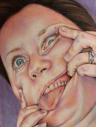 Does my face look funny? by shelleysupernova