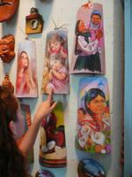 handmade painted works by jaruworks