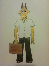 Schoolboy Thomas by momopocky