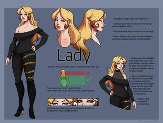 [ref] Lady reference by SirMeo