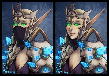 [gift] Frost Mage by SirMeo