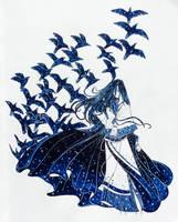 Night and Ravens by amberfall1267
