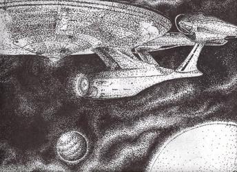 The Enterprise by Bonka-chan
