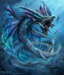 Sea Serpent Stage 3 (Rare) by mictones