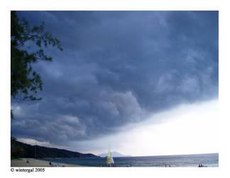 Blueish Clouds by wintergal