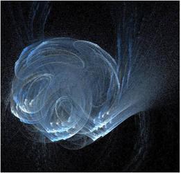 Blue ball by Alyenna