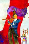 Violinista by RicardoPelaez