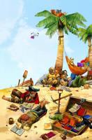 pirate readers by RicardoPelaez