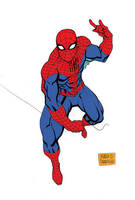 Classic Spiderman by mdavidct