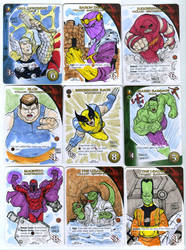 Marvel 3D 19-27 aproved cards by mdavidct