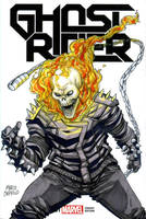 GHOST RIDER sketch cover by mdavidct