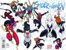 Spiderverse Web of the SPider Women by mdavidct