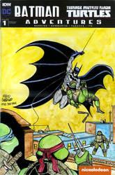 Batman / TMNT cover recreation Detective Comics 27 by mdavidct