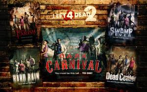 Left 4 Dead 2 Campaign Posters by Cybik