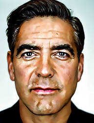 George Clooney by donvito62