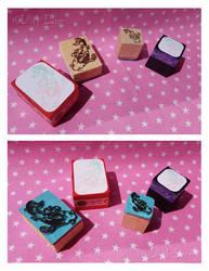 Stamp - Koi by Lilith-Lynn
