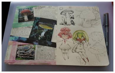 Mushroomys by Lilith-Lynn