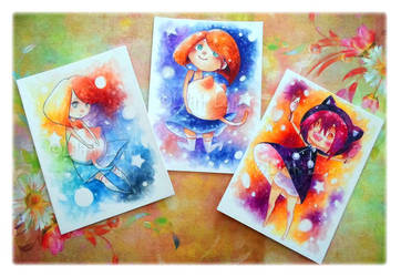 ACEO Cards by Lilith-Lynn