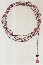 Pink 'N' Grey on Fuschia by ThomEyeDesign