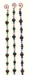 Hematite Heart Bracelets by ThomEyeDesign