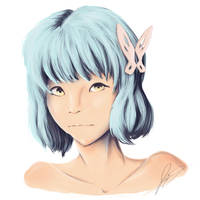 [Request - Bust] Lue for lireamy by AstreyaSky