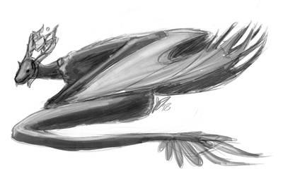 [OC] Almia [Sketch] by AstreyaSky