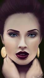 Elegant woman by ManonBuizert