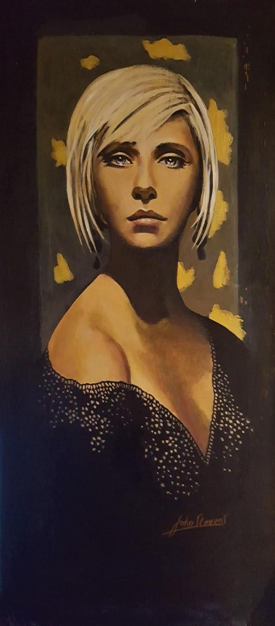 Golden Girl Final version by johnstevensartist