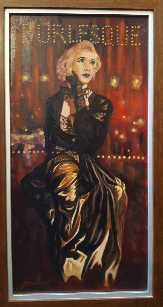 Burlesque by johnstevensartist