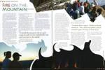 Fire on Mountain Spread by cmrollins
